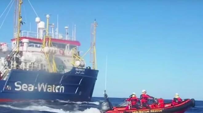La nave Sea Watch