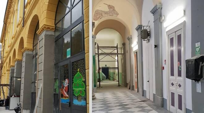 La scuola Garibaldi di Carrara