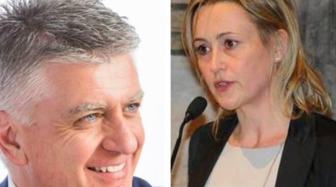 Massimo Mallegni e Deborah Bergamini