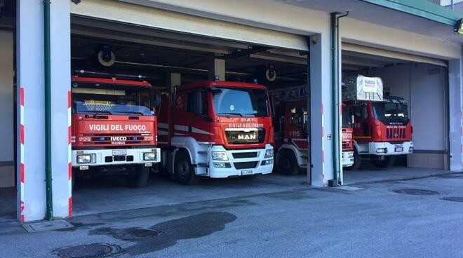 Il Comando provinciale del Vigili del Fuoco di Massa-Carrara