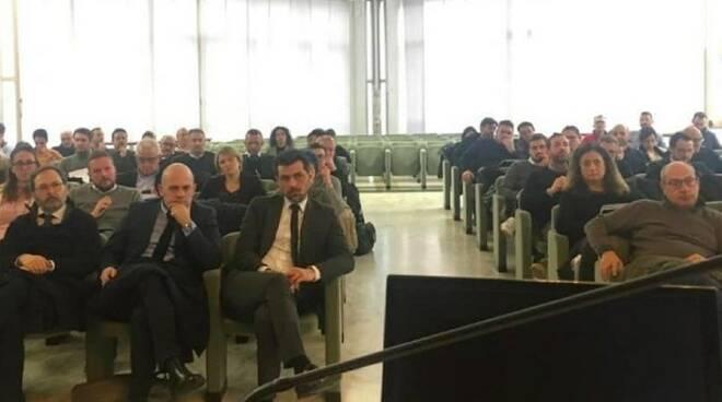 Il pubblico che ha partecipato all'incontro della Camera di Commercio