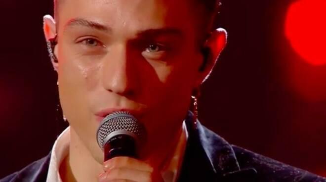 Irama sul palco di Sanremo 2019