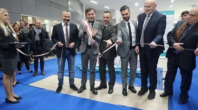 L'inaugurazione di Tirreno Ct e Balnearia