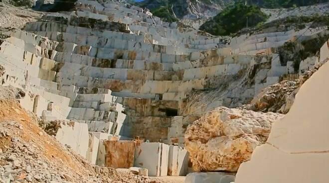 La cava Michelangelo a Carrara