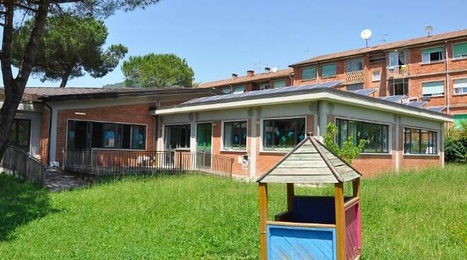La scuola dell'infanzia di San Luca a Bonascola (Carrara)
