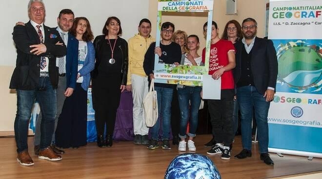 I vincitori dei Campionati della Geografia 2019 (scuole superiori)