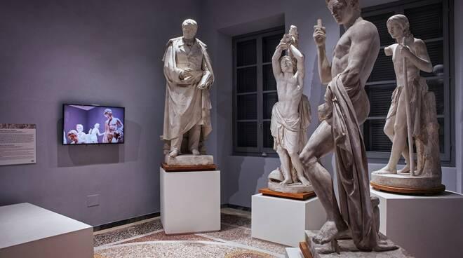 """""""Il laboratorio al Museo"""": restauro gessi al Carmi"""