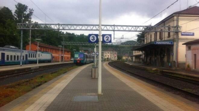 La stazione ferroviaria di Pontremoli