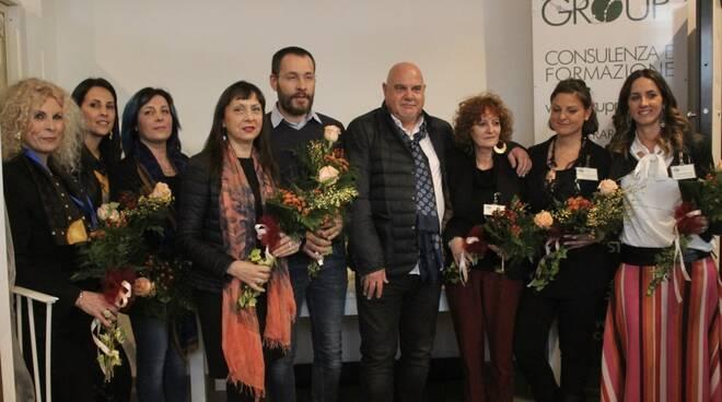 Le donne imprenditrici con il presidente di Cna Paolo Bedini