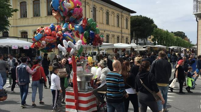 Grande folla per l'edizione 2019 della fiera di San Marco