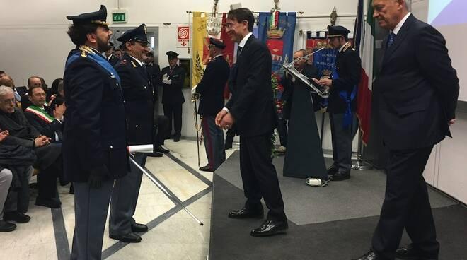 Il 167° anniversario della Polizia: la festa a Marina di Carrara