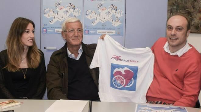 Lara Benfatto, Marcello Lippi e Nicola Codega
