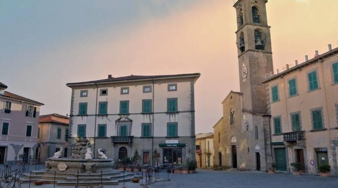 Piazza Medicea a Fivizzano