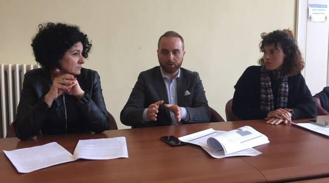 Eleonora Petracci, Andrea Cella e Federica Forti