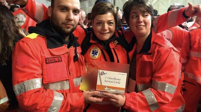 I volontari della Pubblica Assistenza Concordia di Fosdinovo