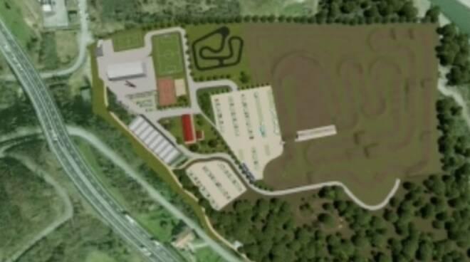 Il centro polisportivo La Boceda a Mulazzo