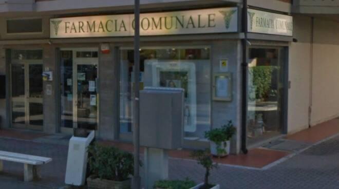 La farmacia comunale di via Zini a Marina di Massa