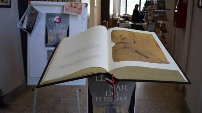 Leonardo Da Vinci alla biblioteca Salucci di Aulla