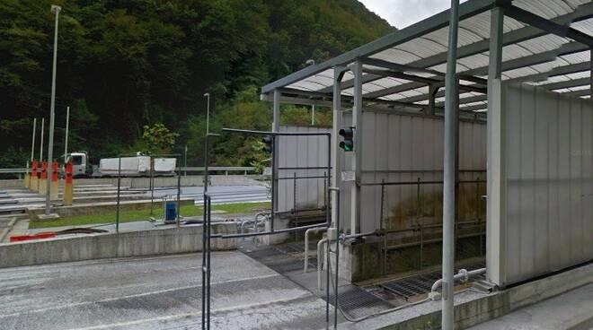 Il lavaggio camion di Miseglia