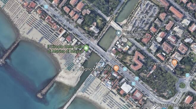 Mappa Marina di Massa