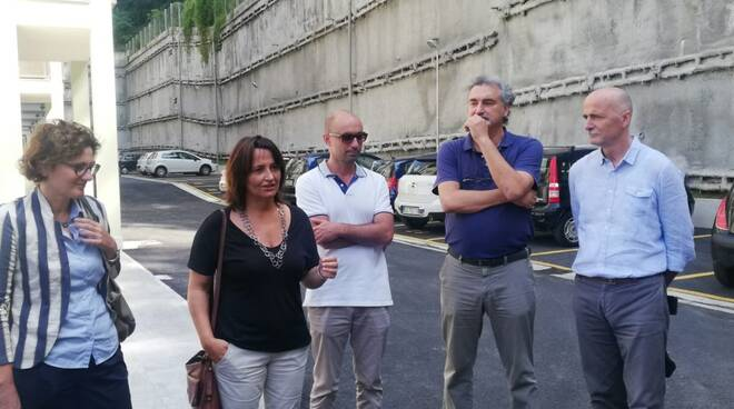 Da sinistra: Simona Ricci, Anna Galleni, Matteo Martinelli, Alessandro Mazzelli e Giuseppe Lazzerini