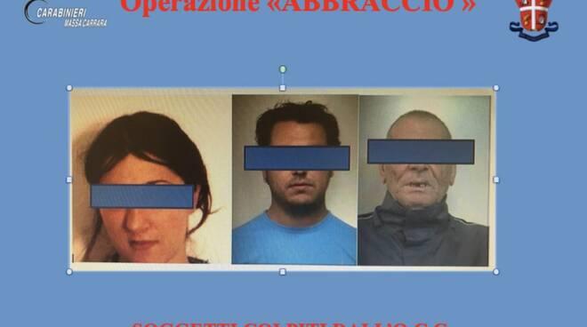 I tre borseggiatori arrestati