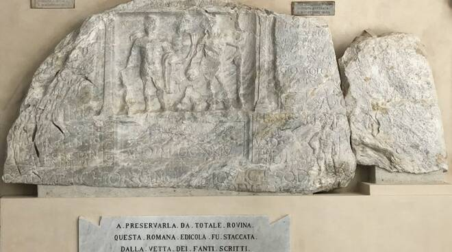 L'Edicola di Fantiscritti conservata all'Accademia di Belle Arti di Carrara