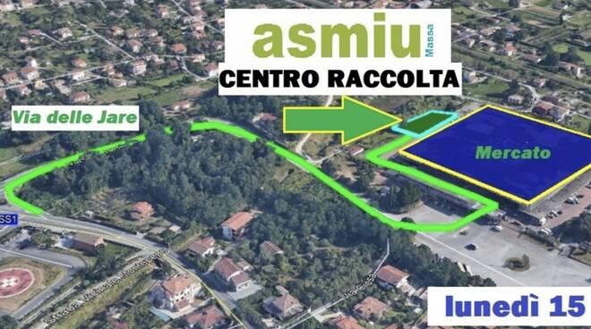 L'immagine utilizzata dall'Asmiu per indicare la sede provvisoria della Ricicleria ala Jare