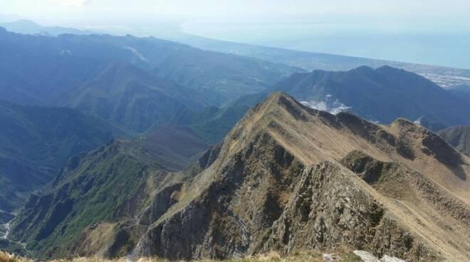 Panorama dal Monte Sagro