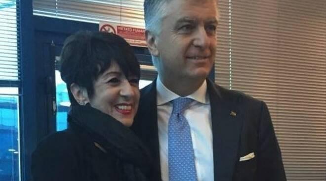 Roberta Dei e Massimo Mallegni