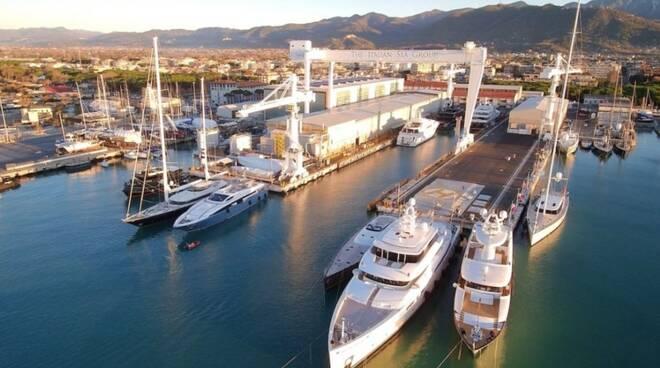 I Nuovi Cantieri Apuania di Marina di Carrara