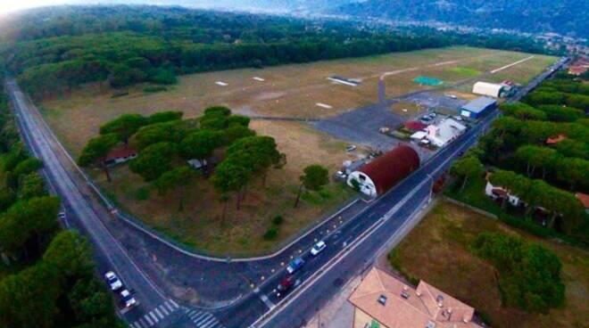 L'Aeroporto del Cinquale a Marina di Massa