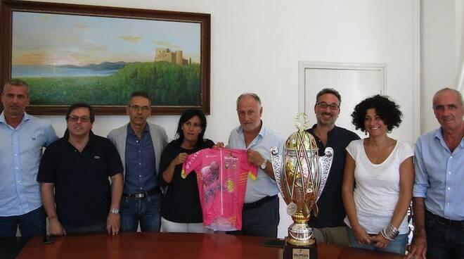 La presentazione della maglia dedicata a Marco Pantani del Trofeo Buffoni