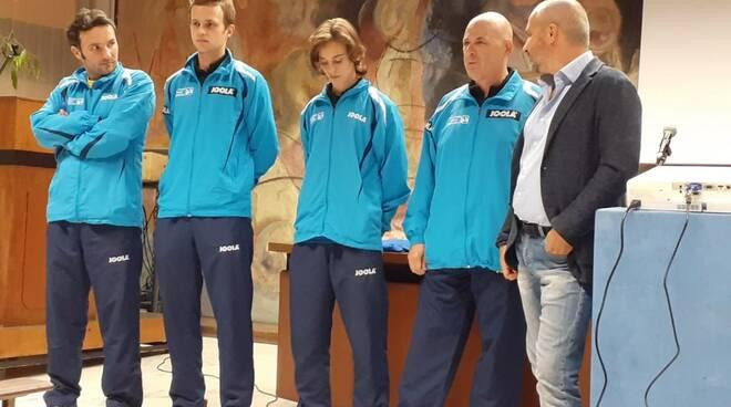 Presentazione Apuania Carrara Tennistavolo