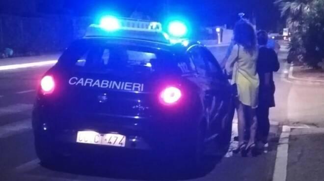 Prostitute sul lungomare controllate dai carabinieri