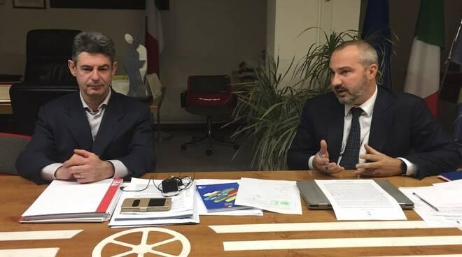 Francesco De Pasquale e Andrea Raggi