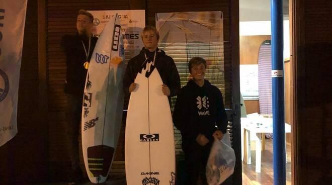 Tommaso Noah Pavoni, nuovo talento del Surf