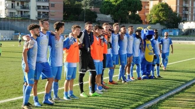 Carrarese-Olbia 4-2: il fotoracconto (26/09/2019)