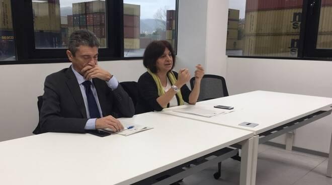 Francesco Di Sarcina e Carla Roncallo