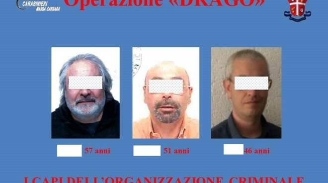 I capi dell'organizzazione criminale