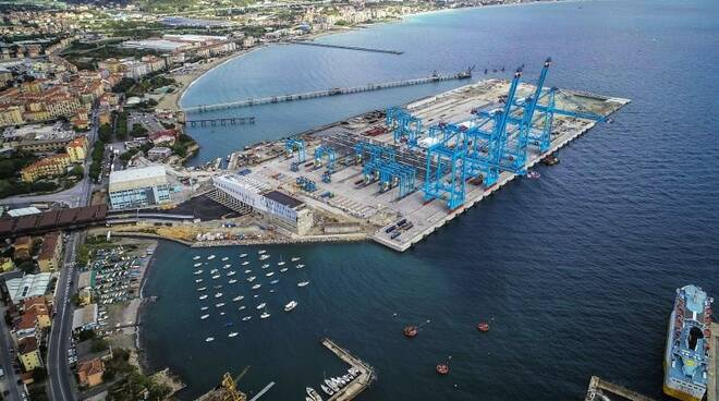 Il nuovo terminal di Vado Ligure