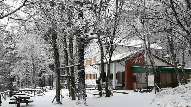 Il rifugio Carrara a Campocecina