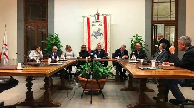 La giunta regionale della Toscana