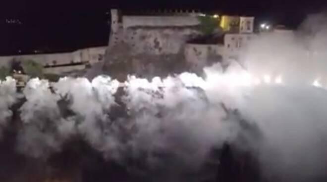 Massese, Torciata dei 100 anni al Castello Malaspina