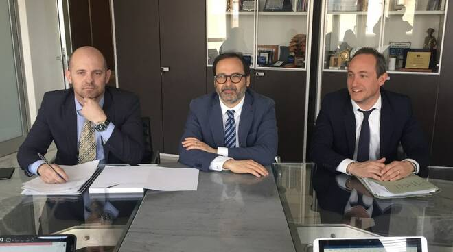 Pierlio Baratta, Francesco Persiani, Marco Guidi