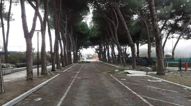 Via Modena a Marina di Carrara