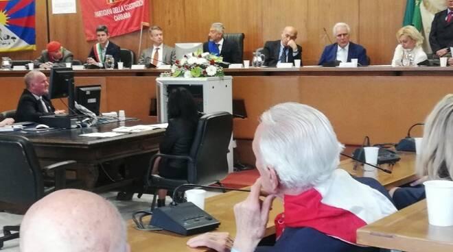 Il Consiglio comunale solenne per la 74° anniversario della Liberazione di Carrara