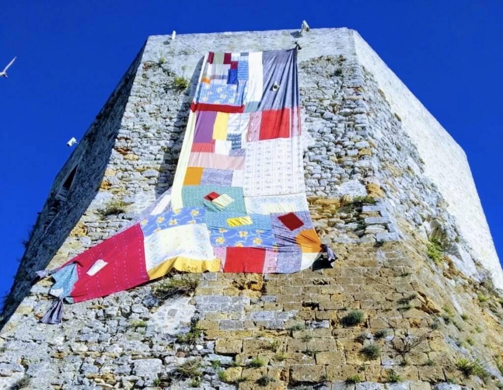 La calza della Pefàna dal Castello Aghinolfi di Montignoso