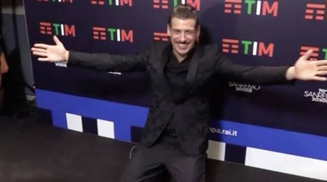 Francesco Gabbani dopo la finale di Sanremo 2020