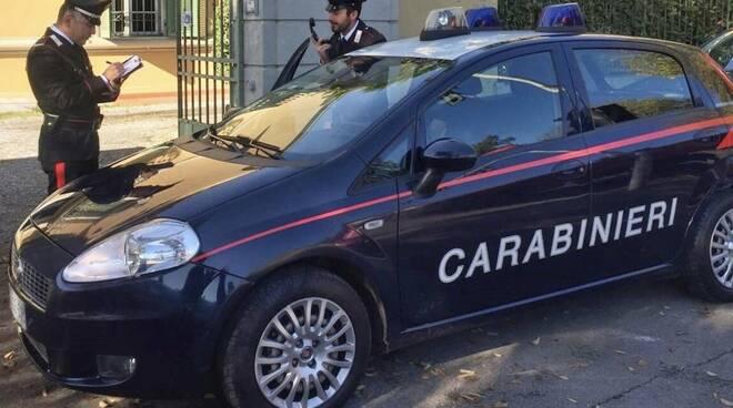 I carabinieri di Fossola intervenuti